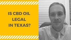 CBD OIL LEGAL IN TEXAS? [With Attorney Luke Williams]