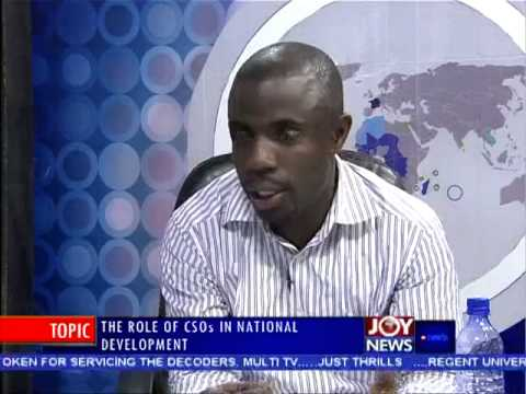 Role of CSOs in National Development - PM Express on Joy News (26-8-14)