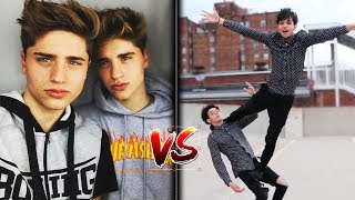 🔥 Ultimate Lucas And Marcus Vs Martinez Twins 🔥 | dobretwins Vs blondtwins Battle Musers
