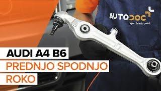 Vgradnja Vzmeti AUDI A4 (8E2, B6): brezplačen video