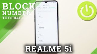 How to Block Number in REALME 5i – Create Blacklist