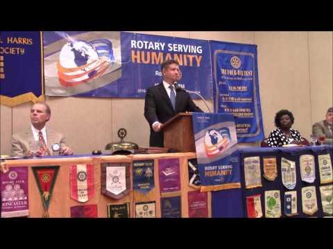 Columbia Rotary Sept 26, 2016