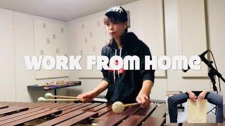 Fifth Harmony-Work from Home/marimba ver