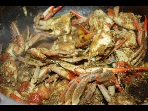 Caribbean Curry Crab Recipe.