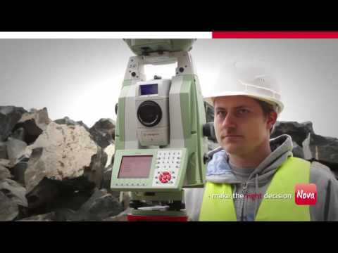6 Leica Nova Mining Application   GEOTOP