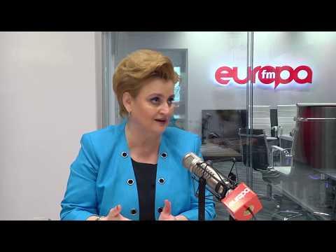 Ministrul Mediului, viceprim-ministrul Grațiela Gavrilescu, la Interviurile Europa FM
