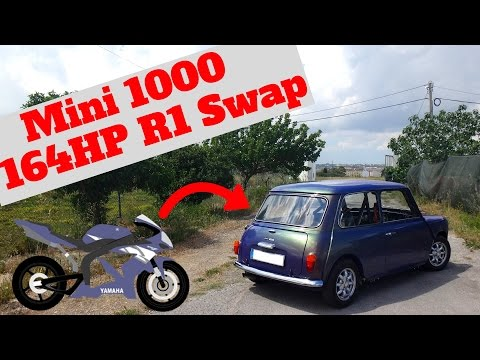 Mini 1000 Yamaha R1 Swap - Portugal Stock and Modified Car Reviews