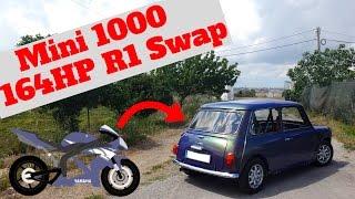 Mini 1000 Yamaha R1 Swap - Portugal Stock and Modified Car Reviews