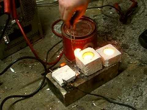 carbon arc furnace - YouTube