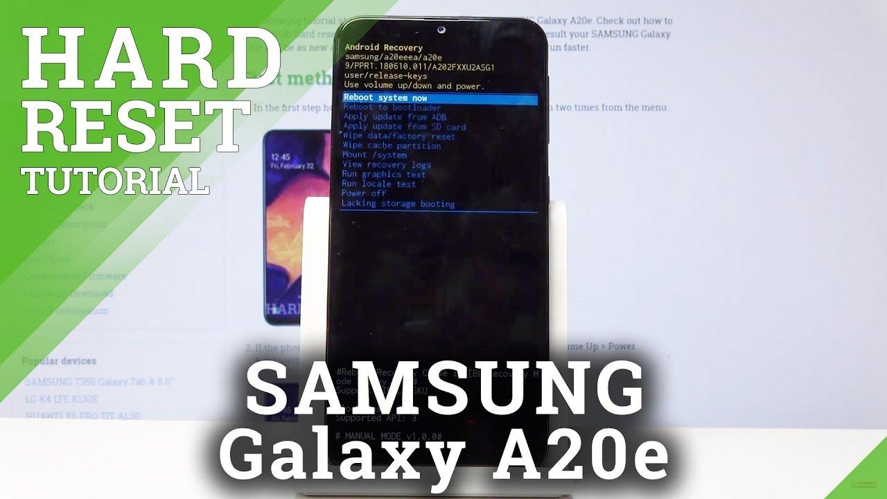 Hard Reset SAMSUNG Galaxy A19, Mehr anzeigen - HardReset.info