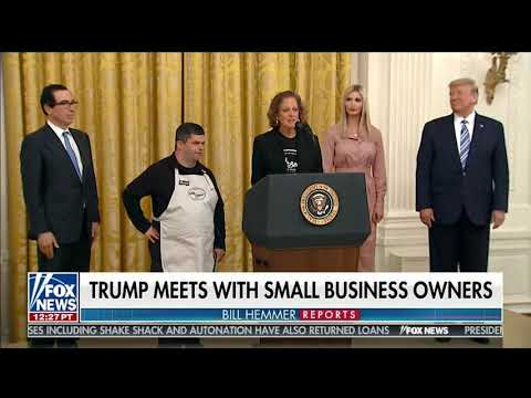Amy Wright & Employee Michael Speak at the White House