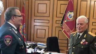 ՀՀ ոստիկանության պետի հրամանով պարգևատրվել են ՌԴ ՆԳՆ մի խումբ վետերաններ