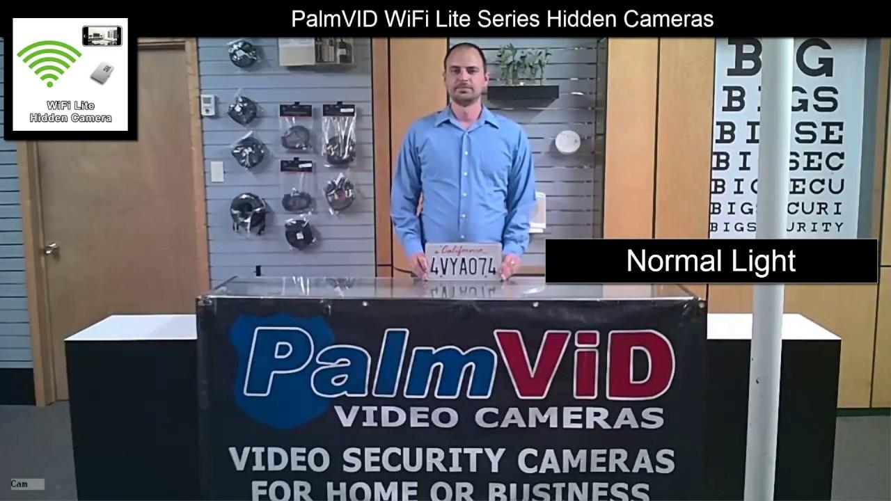 WiFi Series Smoke Detector Hidden Spy Camera