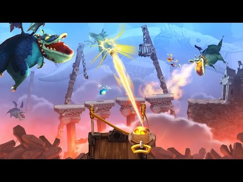RAYMAN LEGENDS - ONE PISSED OFF DRAGON!!!