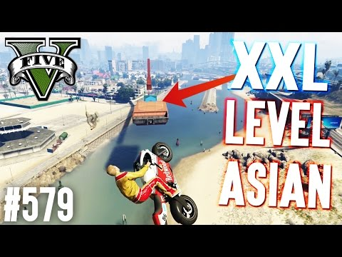XXL LEVEL ASIAN - HARDCORE SPRUNG! (+DOWNLOAD) | GTA 5 - CUS