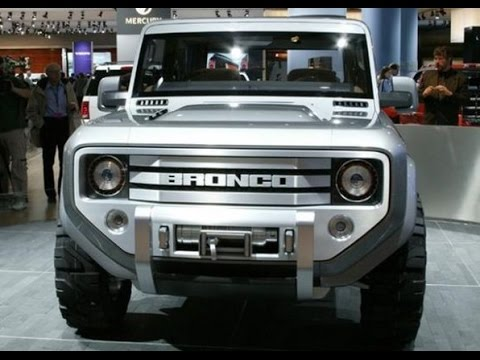 2016 Ford Bronco >> 2016 Ford Bronco Youtube