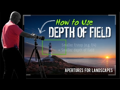 Landscape Photography Tips | How to use Depth of Field | Tutorial with FREE eBook