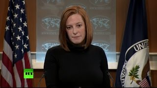 Псаки отказалась комментировать призывы Нуланд создать базы НАТО на линии фронта