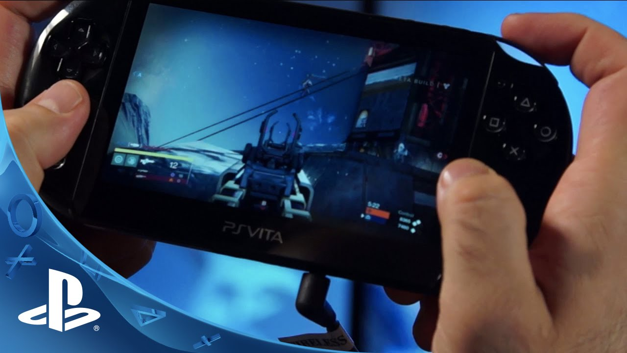 Destiny for PS4: PS Vita Remote Play Hands On - YouTube