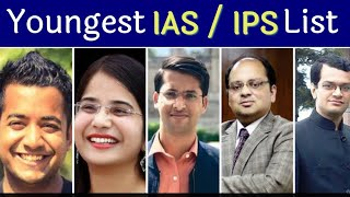List of youngest ias officer in india / youngest ips officer in india list