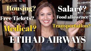 Etihad Airways Salary of Cabin crew by Mamta Sachdeva Air hostess