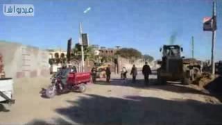 بالفيديو : محافظ الفيوم يتفقد مشروع تطوير طريق دمو