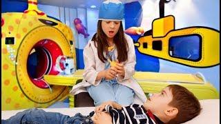 Funny Boo Boo Story * Kids Pretend Play Having Fun