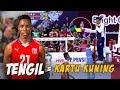 Aksi TENGIL Alfredo Zequeira Cairo yg berbuah KARTU KUNING, Palembang BSB vs BNI 46 | Proliga 2019