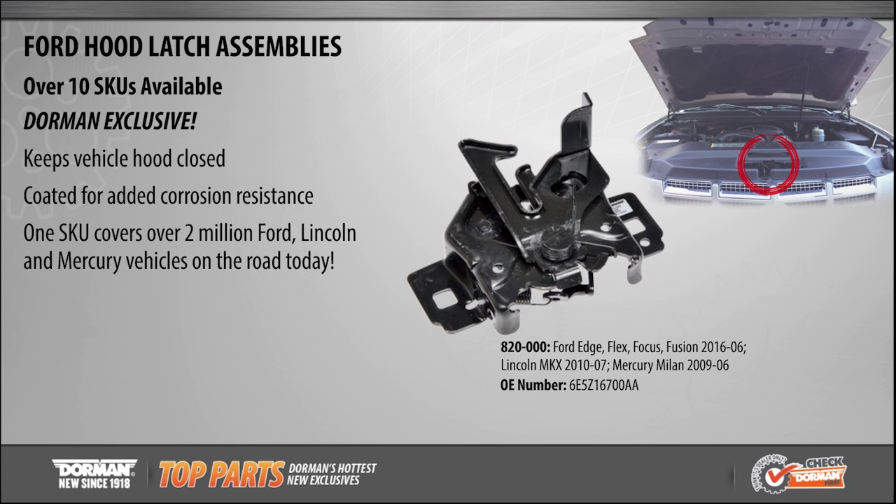 Hood Latch Assembly Youtube Lincoln Starting Problems