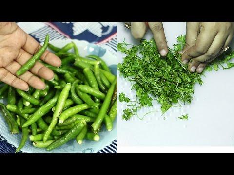 ржзржирзЗ ржкрж╛рждрж╛ ржУ ржХрж╛ржЪрж╛ржБ ржорж░рж┐ржЪ рж╕ржВрж░ржХрзНрж╖ржг | How to Store Coriander & Green Chilli
