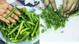 ধনে পাতা ও কাচাঁ মরিচ সংরক্ষণ | How to Store Coriander & Green Chilli