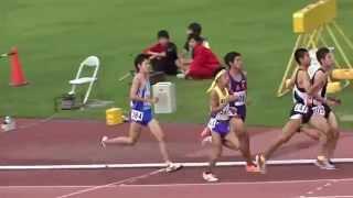 第51回 福井県新人陸上競技大会 男子高校5000m決勝