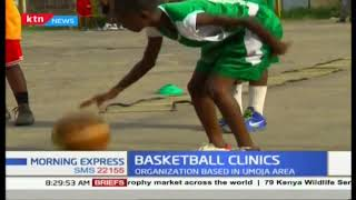 Basketball clinics: Organisation aimed at improving basketball in Kenya