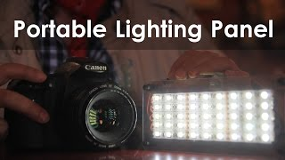 Super-Bright DIY Portable LED Light Panel(This is a really important lighting project if you want to shoot quality movies or photography on the go. I use LED light strips to make a small portable lighting ..., 2016-05-20T15:58:51.000Z)