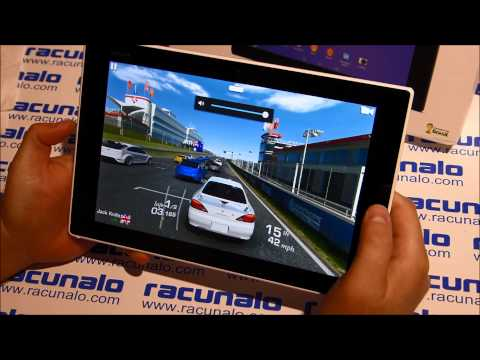 Sony Xperia Z2 Tablet - video gaming test (N.OV.A. 3, Real Racing 3, GTA San Andreas)