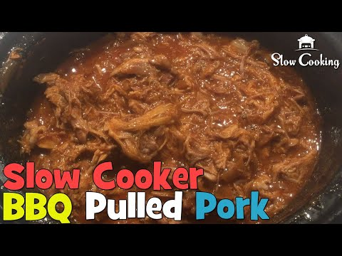 The Slow Cooker BBQ Pulled Pork Perfect For Any Party