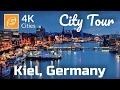 Kiel City Tour, Schleswig Hostein, Germany 4kUHD