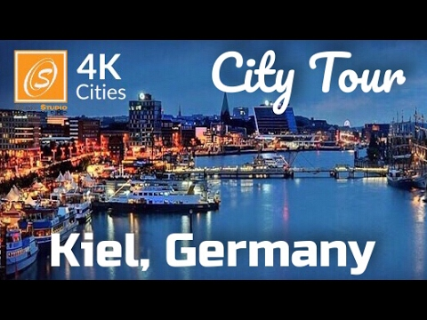 Kiel City Tour, Schleswig Hostein, Germany 4kUHD