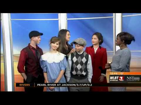 Students Promote Mary Poppins On WLBT's Midday Mississippi