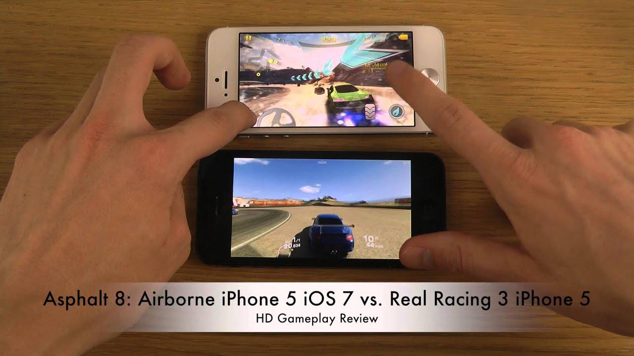 Asphalt 8 airborne iphone 5 ios 7 vs real racing 3 iphone 5 hd gameplay review youtube - Asphalt 8 hd images ...