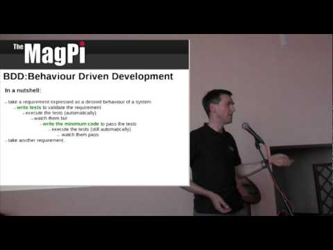 Software Testing - Behaviour Driven Development