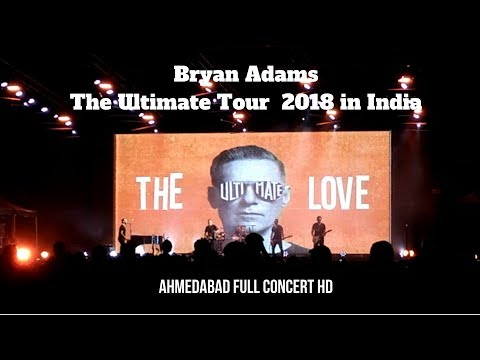 Bryan Adams Concert Ahmedabad | The Ultimate Tour 2018 in India | Full HD | My Vlog