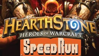 Hearthstone - Speedrun