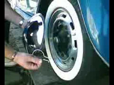 removing hub cap of the wheel VW - YouTube