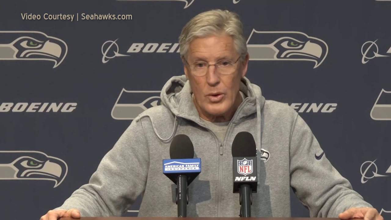 Pete Carroll on Pass Interference Review 2019-12-31