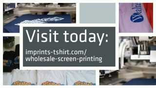 wholesale screen printing from imprints tshirt
