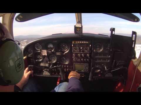 Piper Cherokee 140 Flight