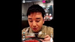 SEUNGRI INSULTED BY SANDARA'S FANS LIVE ON INSTAGRAM
