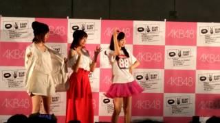 5/1 フォトセッション 小栗有以 大家志津香 中村麻里子 お立ち台から.