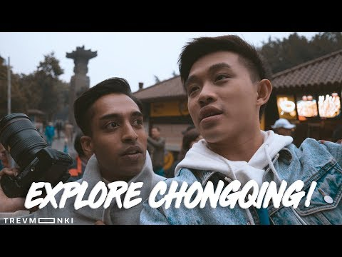 Explore Chongqing! - WE SAW RABBIT HEADS?! (Part 1)